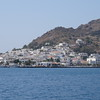 "When visiting Patmos you have to ""Tender"" (get on a smaller boat from your bigger Cruise ship) to get into town which is for sure one of the highlights of a visit there since the scenery to/from is pretty spectacular!"