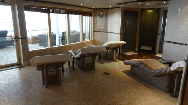 "Or spa with its many treatments and ""Thermal Suite"" which features heated beds."
