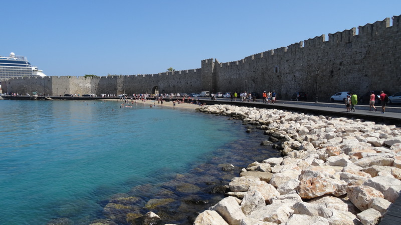 The wall that surrounded the old town (right next to where the cruise ships pull in) was something else!