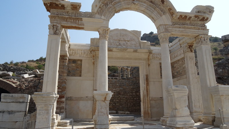 Sites like this are all around Ephesus.
