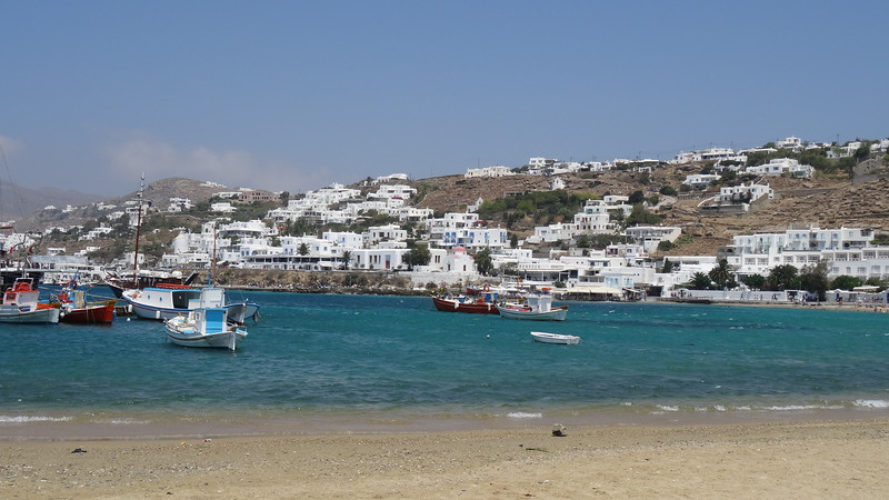 """Our final stop during our """"Greek Isles & Turkey Cruise"""" was in Mykonos, Greece… like our 1st visit there we loved exploring Mykonos again as not only is it a great city on the eyes but it's one of the funnest places to walk around & get lost as they designed it very confusingly to make sure the pirates couldn't easily get around which we're guessing made it one of the less attractive islands to invade."""