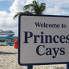 """Our 1st stop during our 7 Night Cruise was on Princess' private island in the Bahamas called """"Princess Cays""""... as you can see from the ship in the background, it's just a short boat ride away from the Ship to this tranquil place."""