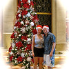 """Today's a """"Sea Day"""" so we figured let's show you around the ship... as it's just before Christmas they have her beautifully & festively decorated... Cruising during the Holidays... we love it! :-)"""