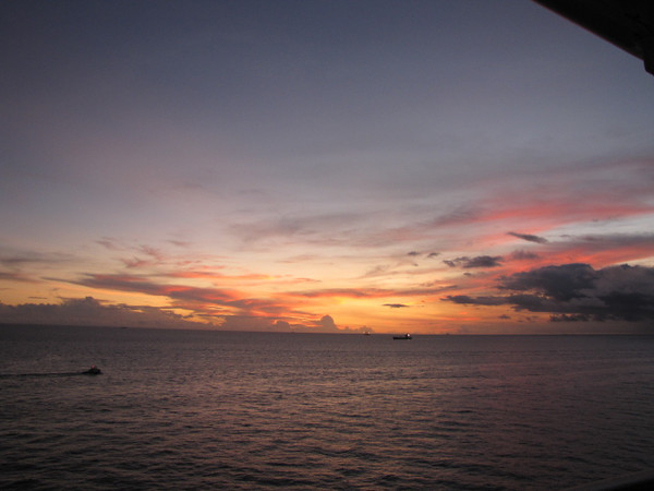 Did we mention earlier that there are some awesome sunset views to be had from your private Balcony when Cruising? :-)