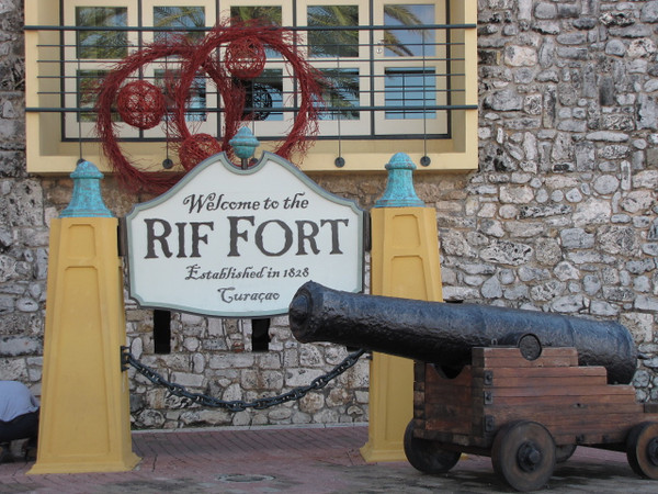 "Make sure to check out the ""Rif Fort"" when in Curacao... as you can see it's been around a very long time but what's cool about it is it's now a popular dining, shopping & entertainment complex that's been built right into the Fortress' walls."