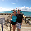 Can you tell we look pretty happy to be enjoying some time on Princess' Private Bahamian Island Retreat! :-)