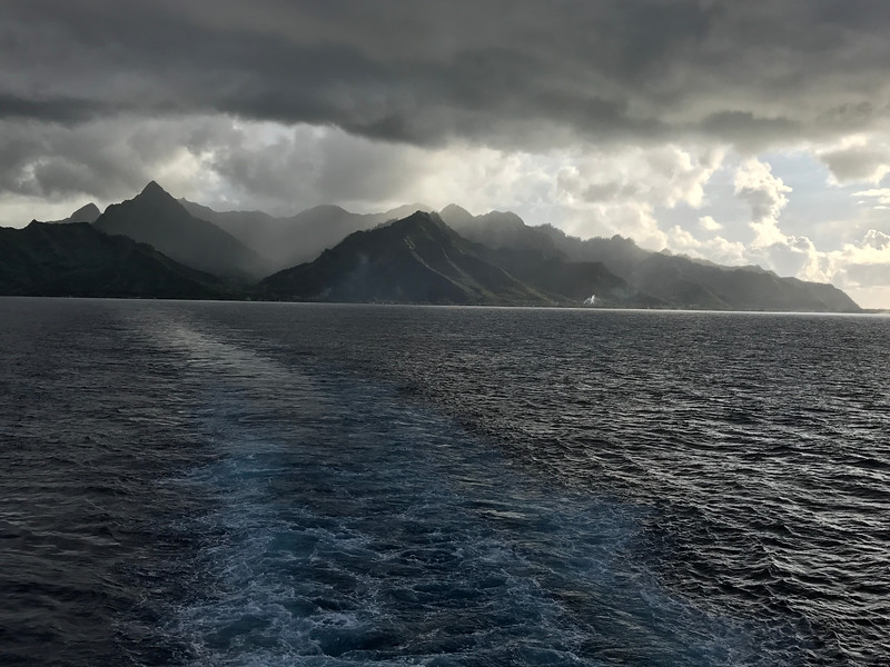 "There's one last shot of Moorea before we headed back to our ship for our final night onboard.<br /> <br /> We have to say, our time onboard ""Paul Gauguin"" and in ""Tahiti & French Polynesia"" was definitely special and a great way to celebrate our 50th Cruise!!<br /> <br /> To see our full review of this Cruise visit here: <a href=""http://www.nancyandshawnpower.com/paul-gauguin-cruise-tahiti-review/"">http://www.nancyandshawnpower.com/paul-gauguin-cruise-tahiti-review/</a>"