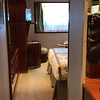 "If a Balcony room simply isn't in your budget here's what a Category F Porthole Stateroom is like, this is the lowest priced room onboard... as you can see it's not too shabby as it's the same layout as the smallest Balcony rooms (minus the Balcony) but note these rooms are all on deck 3 right next to where the ""tendering"" on/off the ship is done so it can be pretty noisy down there with gangways being set up/anchors being lowered, etc.<br /> <br /> FYI, one deck up on deck 4 are the Category E ""Picture"" Window rooms... a slightly better choice then the F rooms as the noise from the tender operations lessens a little from being 1 deck higher."