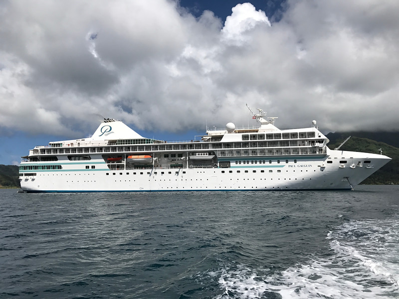 """As much as we enjoyed the """"InterContinental Tahiti Resort & Spa"""" in Papeete we couldn't wait for our cruise on the """"Paul Gauguin"""" ship as we'd heard great things about her food & service & """"Tahitian"""" atmosphere onboard... and she didn't disappoint! What a great 11 nights we had sailing around Tahiti & French Polynesia onboard the Paul Gauguin Cruise Ship!!"""