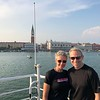 "There we are sailing past Venice's Famous ""St. Mark's Square"" & ""Doge's Palace""... not hard to have smiles on your face when in a setting like this!! :-)"
