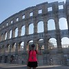 We for sure know you THINK you know where our next port stop was but we promise, it was NOT in Rome!! :-)<br /> <br /> It was in Pula, Croatia where they too have a VERY impressive Roman amphitheatre!!