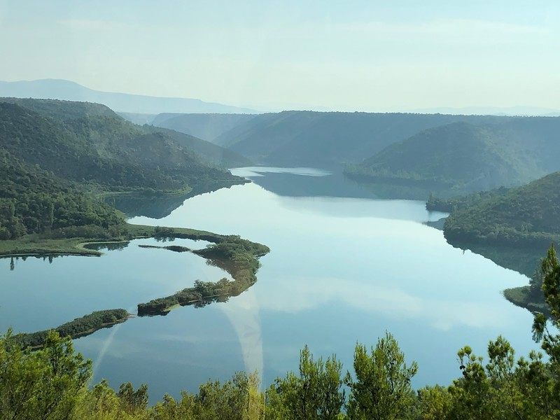 """For our second Port stop we were dropped off in """"Sibenik, Croatia"""" where we took a scenic drive to visit their """"Krka National Park""""... scenes like above were all around us in this area, it was truly Beautiful!!"""