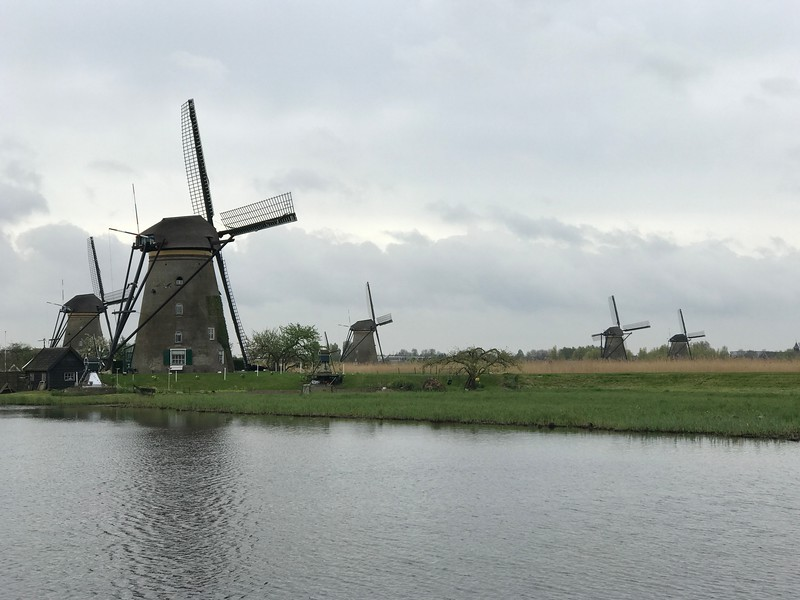 For our next stop in Holland we went to Kinderdijk which is a UNESCO World Heritage Site that features 19 very well preserved Windmills… we learned all about how these pumping stations worked and had the opportunity to go inside and explore one of them… very fun experience that day for sure! :-)