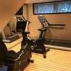 It's small but does the trick… if you need to burn off some calories while on your River Cruise there's a little fitness room to help you do just that. And there's a walking track on the top deck too.