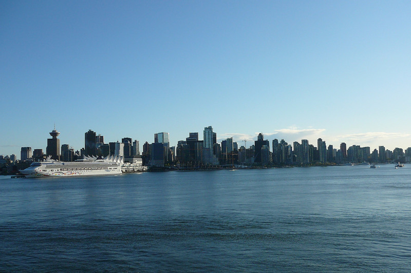 There's a glimpse at the beautiful views we had of Vancouver as we sailed away and made our way to Seattle.