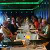 "Here we all are at the ""Supper Club"". It's not included in your Cruise fare but as its only a $30 per person cover charge we highly recommend it!! Make sure at least someone in your Party gets the Porterhouse so you can all try it. :-)"
