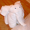 "One of the best parts of a Carnival Cruise is coming back to see the ""Towel Animals"" that your Room Stewart makes for you each night... cute!! :-)"