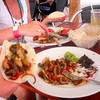 Fajitas in Mexico, now that's authentic... we definitely enjoyed lunch during our fun day in Cozumel! :-)