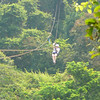 And there's Nancy having some Fun on her 1st ever Ziplining Excursion!! :-)