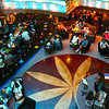 """There's the Lobby Bar at the bottom of the 11 Story Atrium on the """"Carnival Glory""""... always an active place to have a drink, listen to some music, people watch, etc."""