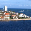 "Private Beach Anyone??  There's a peek at some of the homes that line ""Port Everglades"" Cruise Port in Fort Lauderdale... very nice!"