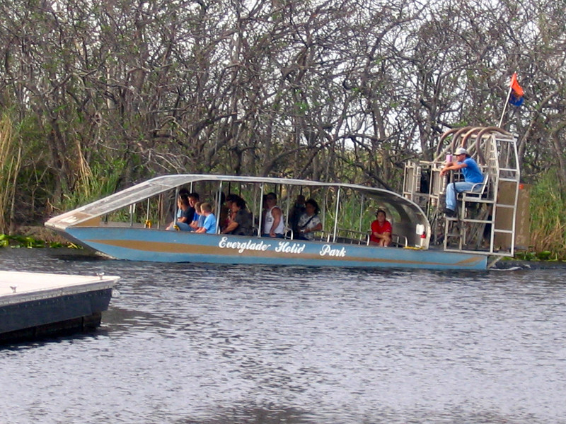 """After our Western Caribbean sailing we spent a day in Fort Lauderdale before heading home... and we figured, why not take and """"Air Boat"""" ride in the Florida Everglades... fun!! :-)"""