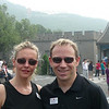 "From one Great ""Wonder of the World"" to another, here we are in Beijing, China about to climb the ""Great Wall of China""!!"