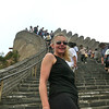 "Definitely the biggest surprise of the ""Great Wall"" was how steep it was in areas... well worth the climb though!! :-)"