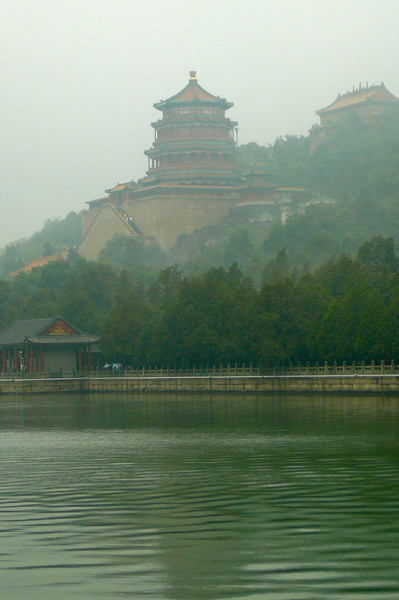 "Here's one of the many Beautiful scenes we saw at the ""Summer Palace""!"