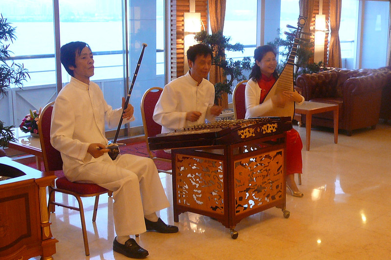 "Speaking of great Music, we were welcomed with Traditional Chinese music as we stepped onboard the ""Viking Century Sun"" for our 5 Night Cruise up the ""Yangtze River""."