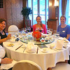 There's Paul & Sara, Nancy, and Maureen & Steve settling in for another lunch together. This was Cruise # 14 for us & as most of our other Cruises have been just the 2 of us we can truly say it's so much fun traveling with a Group where you get to recap your great days together over an excellent meal with new friends!!