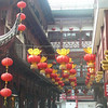 "We saw many beautiful sites in ""Old Shanghai"" like this one..."