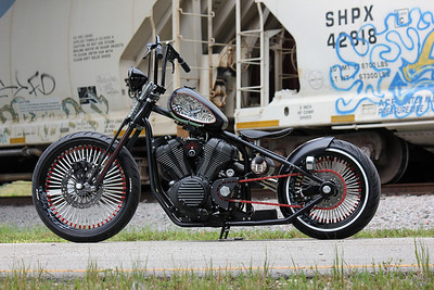 "Star Bolt Challenge Bike ""Lucky 13"" by BMS Choppers"
