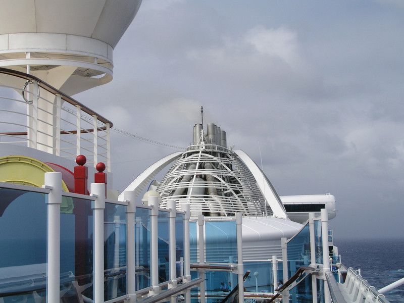 On and about the Golden Princess, November 2003.
