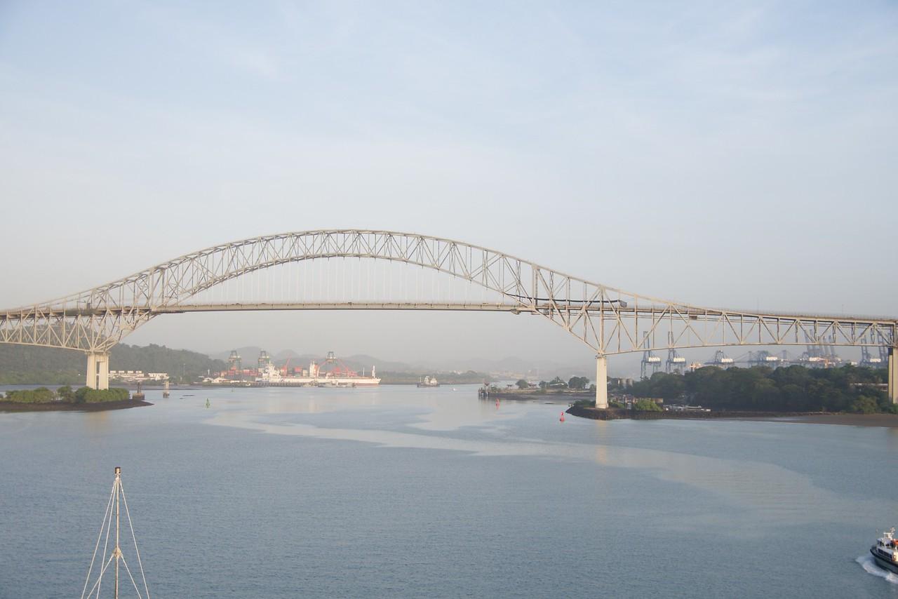 Bridge of the Americas is part of the Pan American Highway