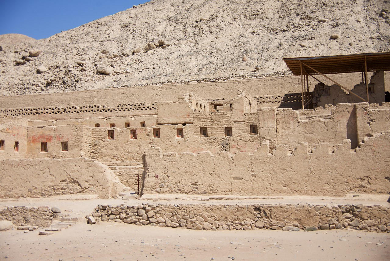 The Inca Palace is the residential section of the local representative of the ruling elite