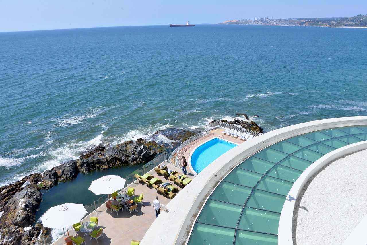 View from My Room at Vina del Mar