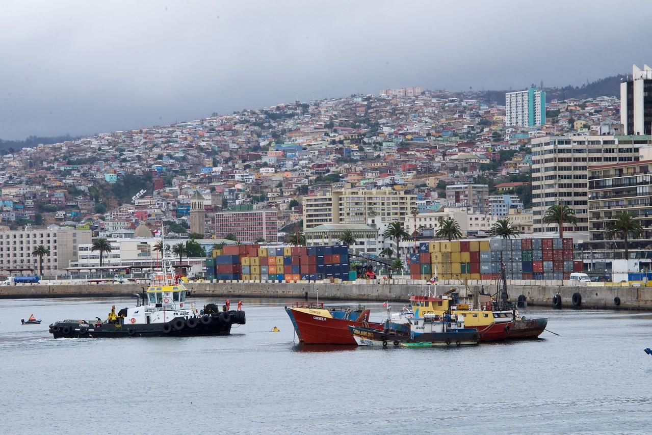 View from My Veranda at Valparaiso