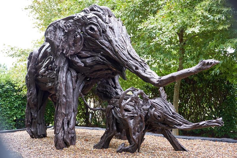 Another Jack Marsden-Meyer driftwood sculpture.