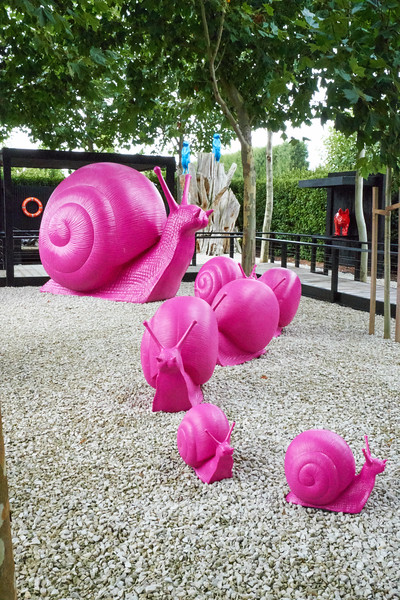 The Pink Snails.