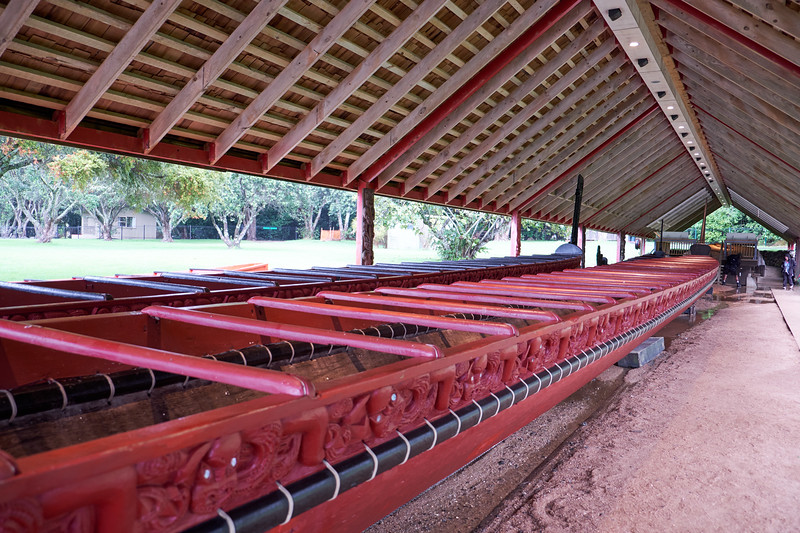The biggest, most pestigious waka were used to carry large number of warriors. This waka taua, Negatokimatawhaorua, a ceremonial war canoe is the largest in the world. It is used on Waitangi Day every year.