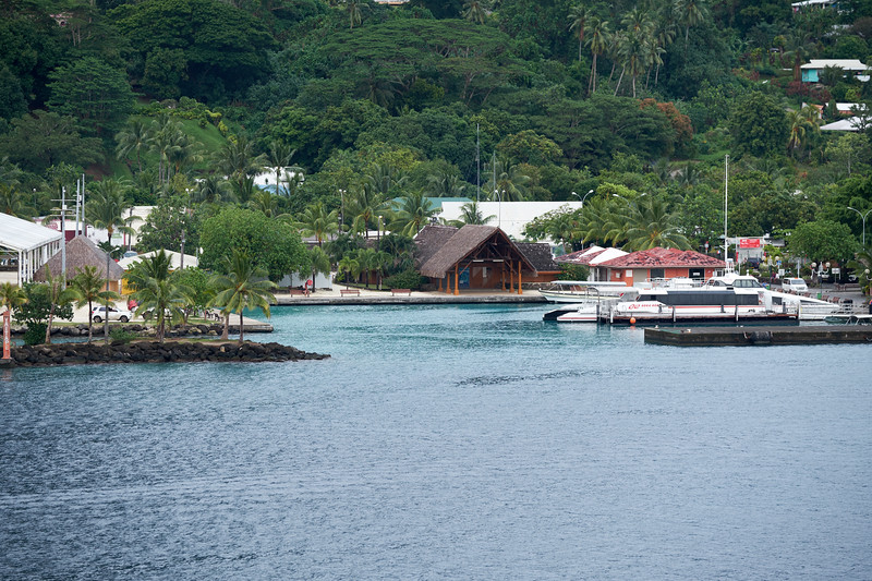 Vaitape pier, rebuilt by the US Army in 1942. Original was built by the British missionaries in 1816.