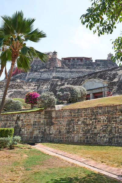 San Felipe fortress was built in levels to make attack even more difficult.