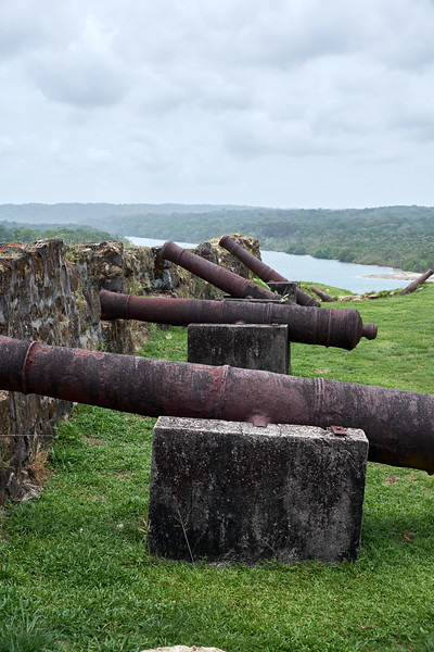 Cannons at Fort San Lorenzo.