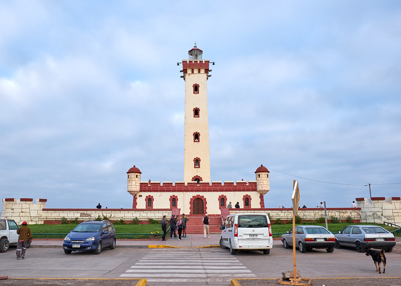 The Lighthouse is the symbol of La Serena, Chile. However it is not and has never been a working lighthouse.