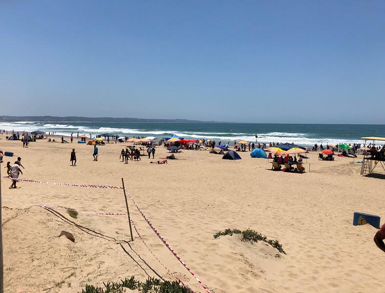 Durban Beach.