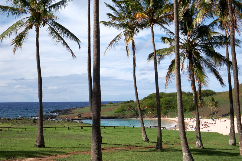 Anakena is the place where the founding king of the Rapa Nui people, Hotu Matu'a, first set foot on the island.