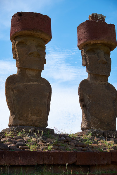 Anakena Moai are the most beautiful because of the detail.
