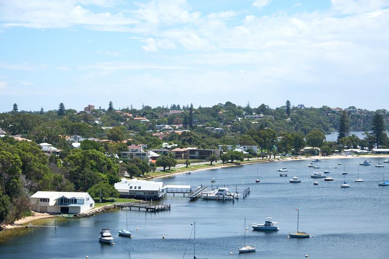 The very posh Peppermint Grove neighborhood of Perth.