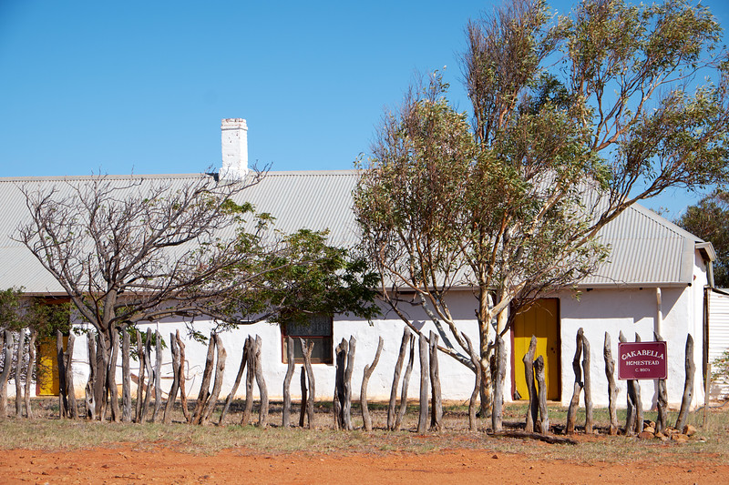 The 13 room homestead has been preserved and reflects the life over a 100 year period.